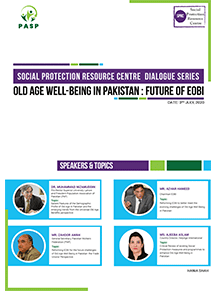Old Age Well-Being in Pakistan