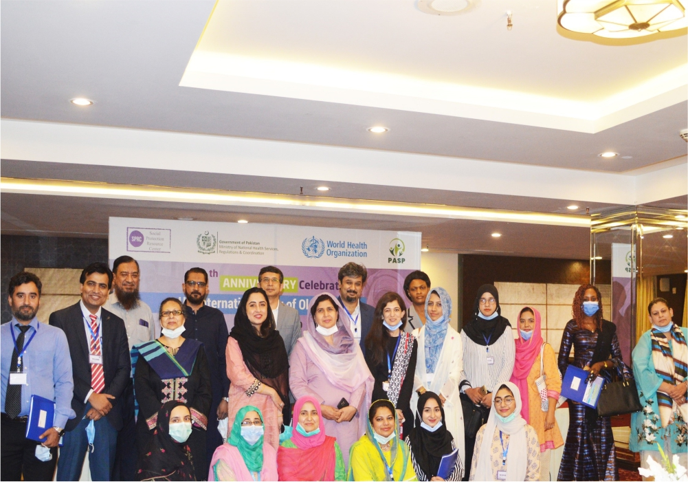 """The event on """"Celebrating the UN International Day of Older Persons"""" was successfully organized by the collaborative efforts of WHO & SPRC team."""